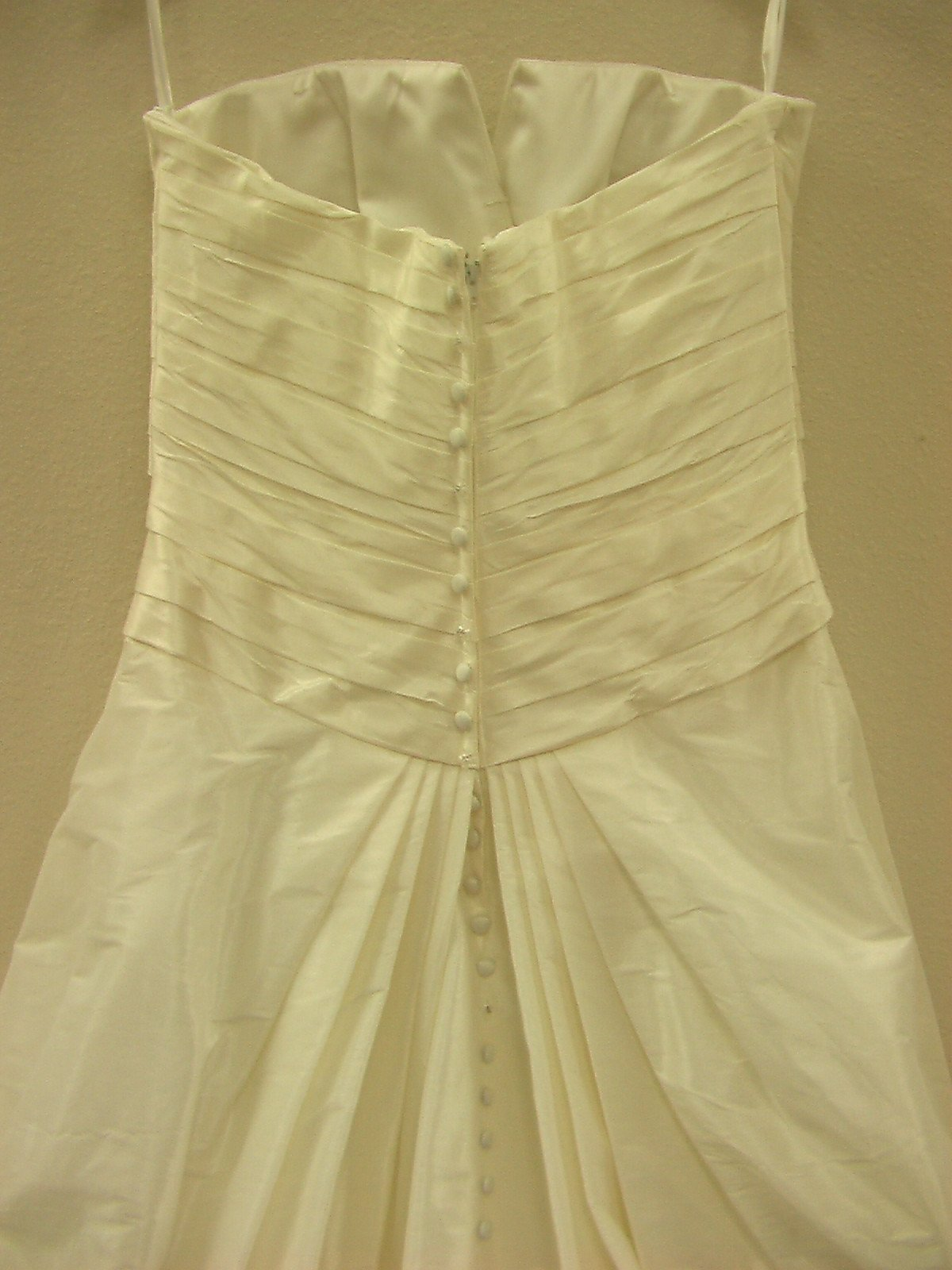 PC 18752 Antique Ivory/Silver size 14 In Stock Wedding Dress - Tom's Bridal