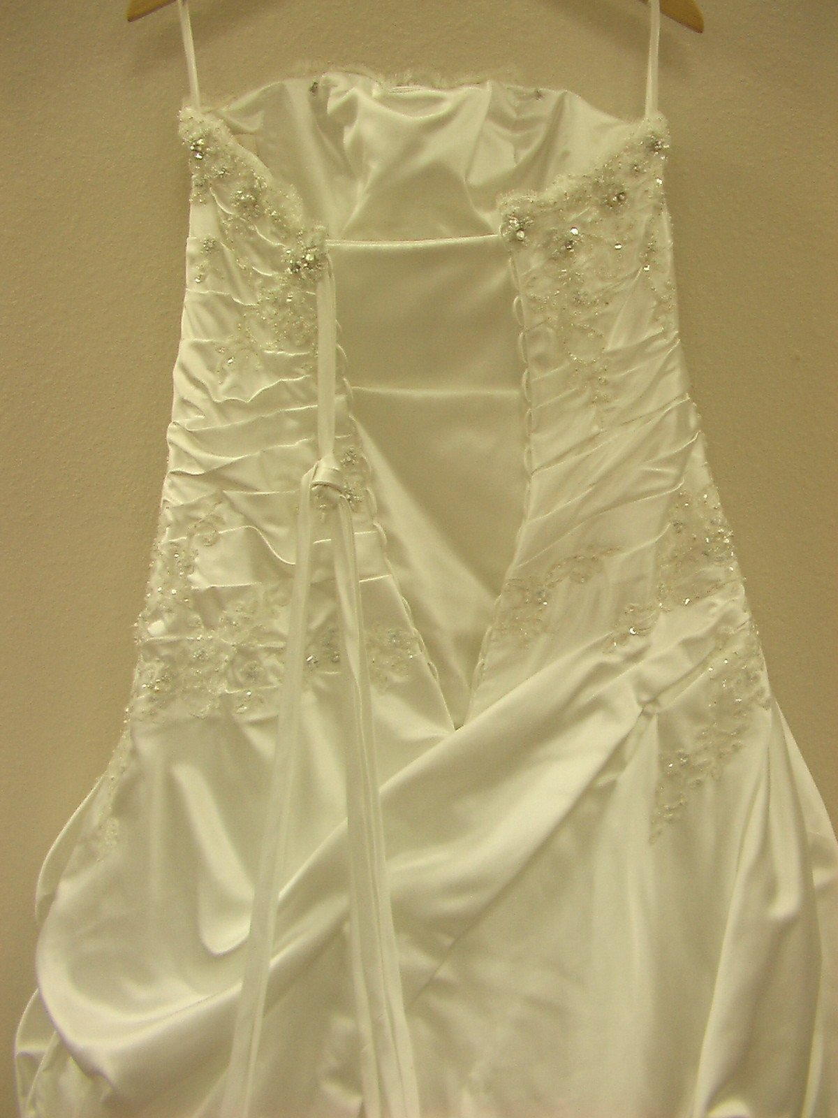 PC 18758 Ivory/Silver size 12 In Stock Wedding Dress - Tom's Bridal