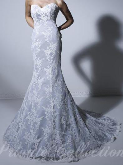 PC 18849 Ivory size 14 In Stock Wedding Dress - Tom's Bridal