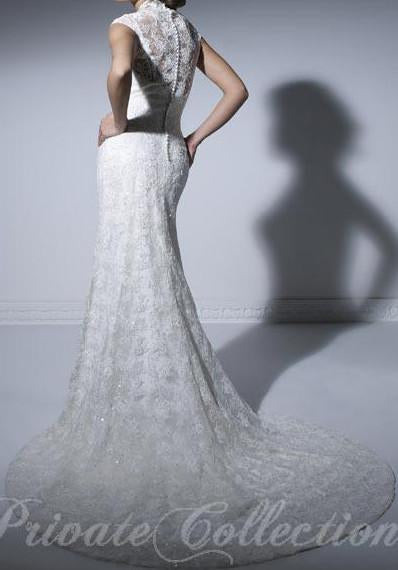 PC 18852 Ivory size 10 In Stock Wedding Dress - Tom's Bridal