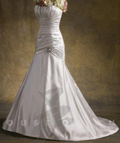 PC 1891016 Ivory size 12 In Stock Wedding Dress - Tom's Bridal
