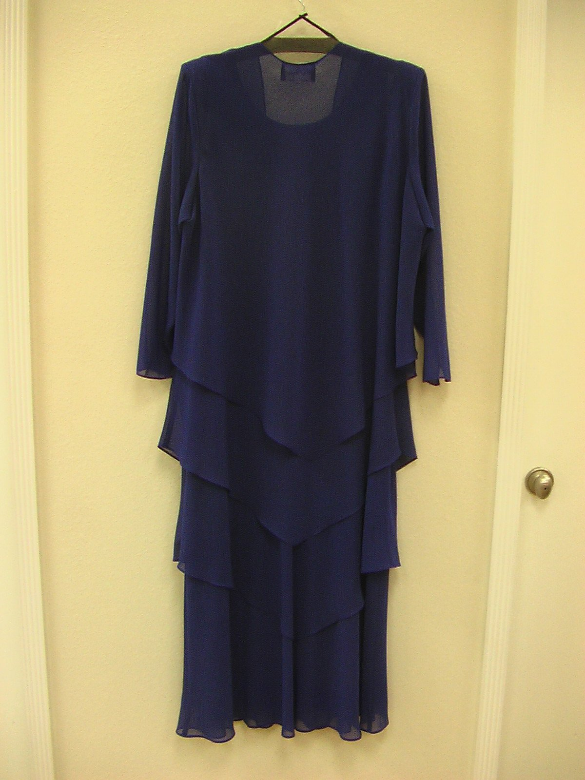 Ursula 62509 Cobalt size 22W In Stock Mothers Dress Plus Size - Tom's Bridal