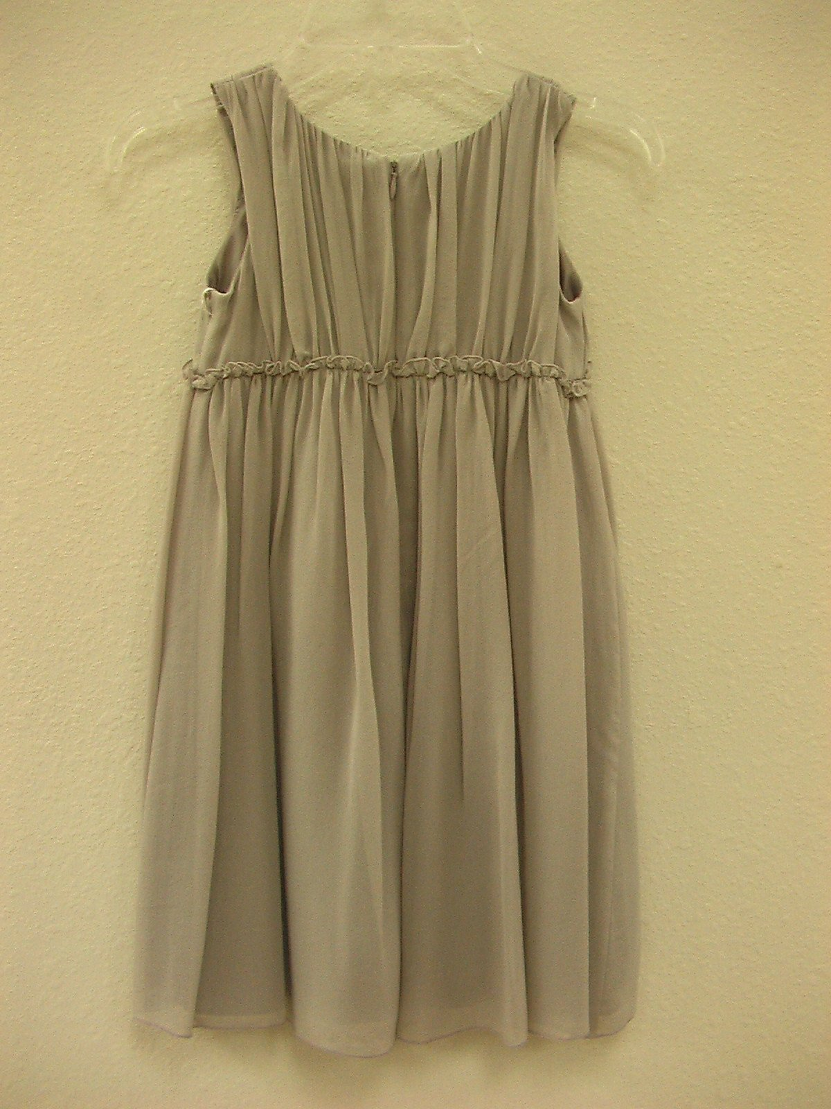US Angels 10501 Pewter size 6 In Stock Flower Girl Dress - Tom's Bridal