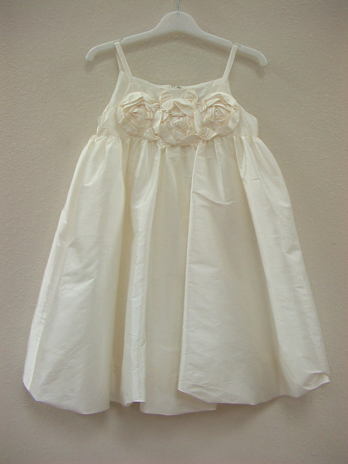 US Angels 132 Ivory size 5 In Stock Flower Girl Dress - Tom's Bridal