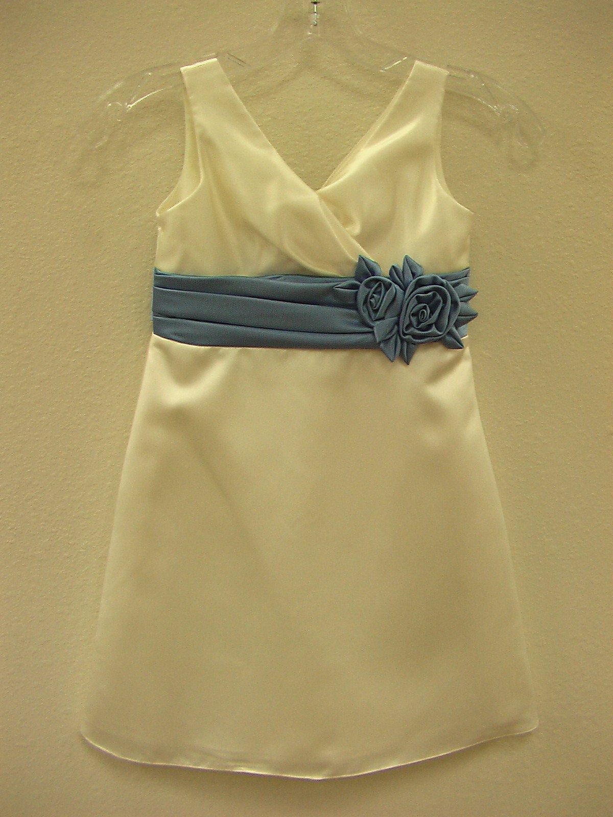 Watters 41281 Ivory/Heron size 5 In Stock Flower Girl Dress - Tom's Bridal