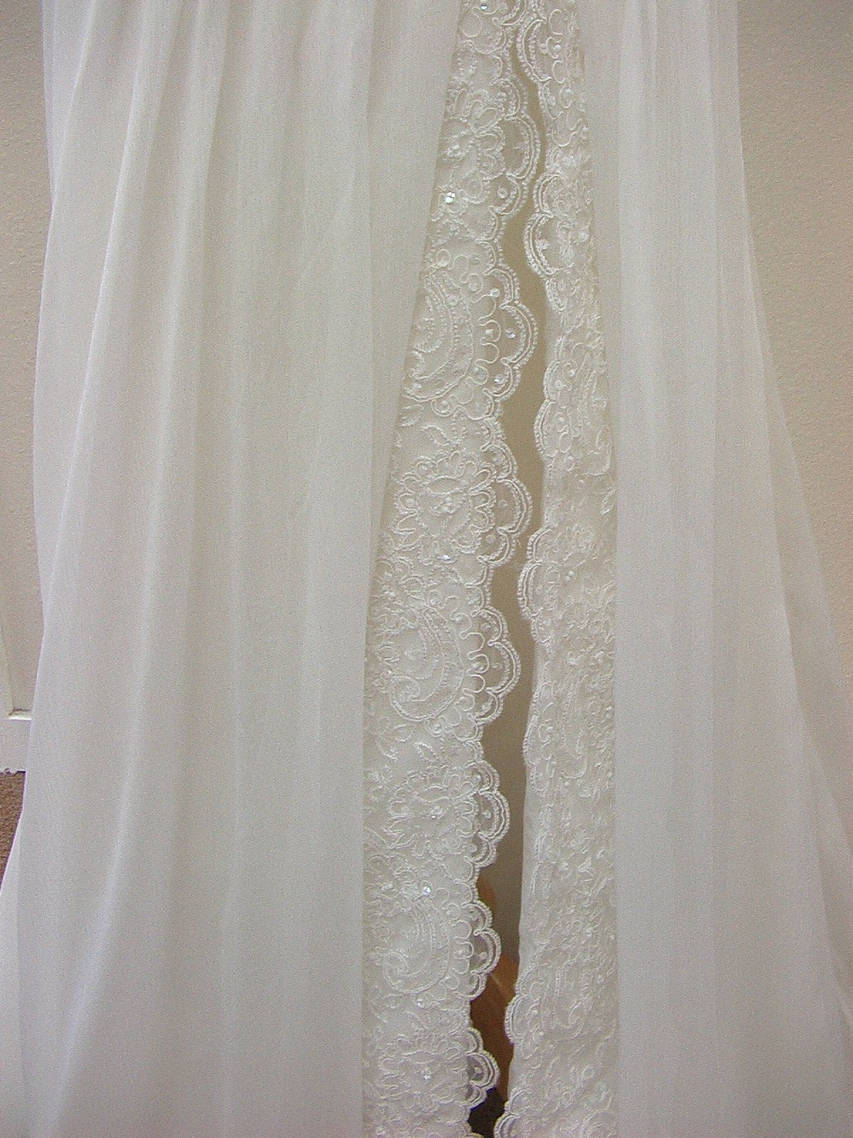 White One Nurse by Pronovias Off White size 10 In Stock Wedding Dress - Tom's Bridal