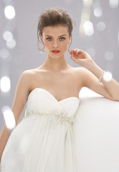 Wtoo 12360 Marguerite Ivory size 10 In Stock Wedding Dress - Tom's Bridal