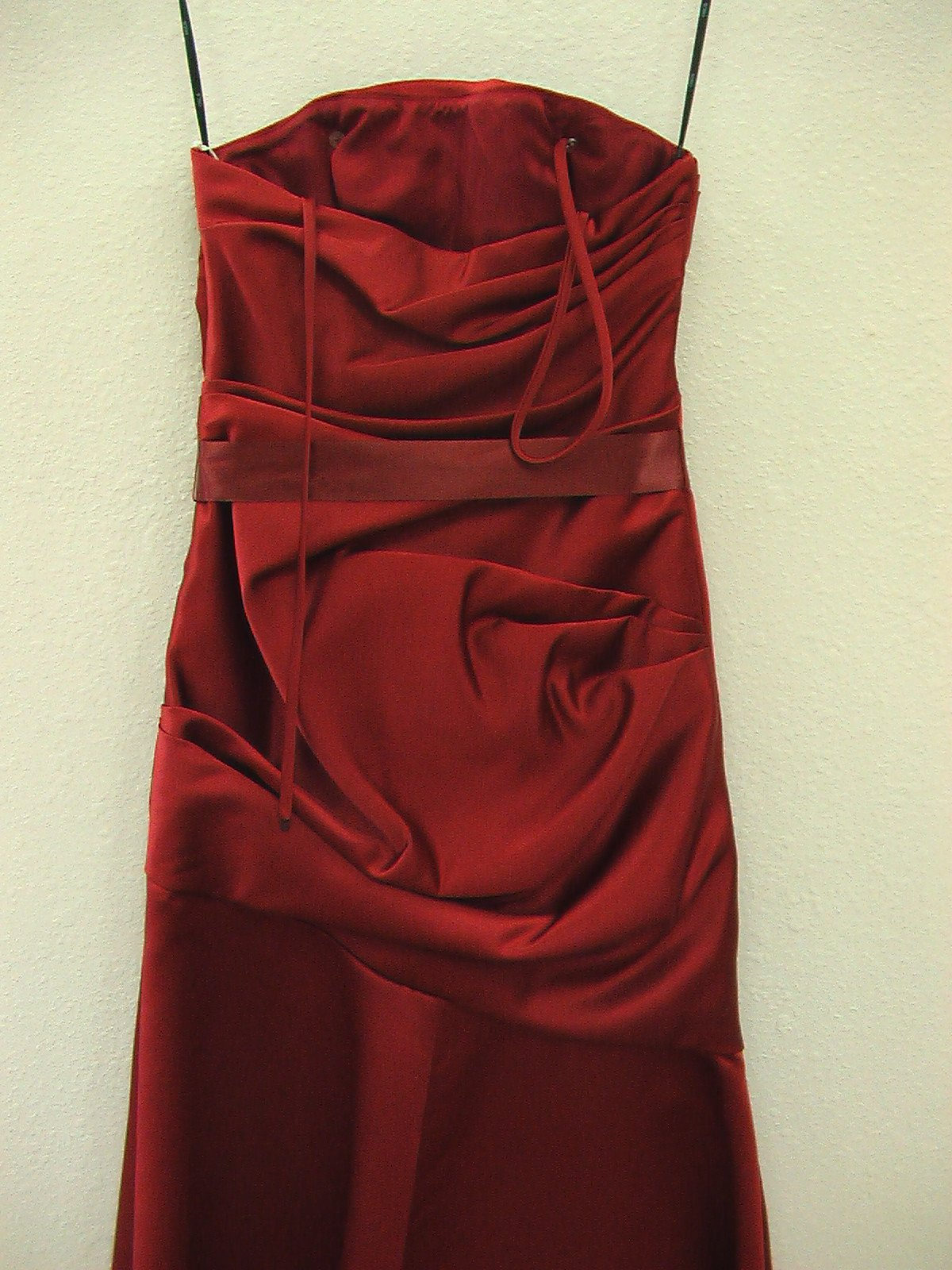 Wtoo 288 Pomegranate Size 0 In Stock Bridesmaid Dress-NEW - Tom's Bridal