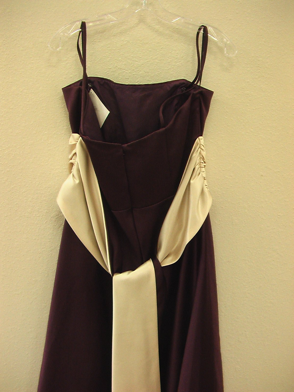 Wtoo 443 Plum Khaki size 12 In Stock Bridesmaid Dress-NEW - Tom's Bridal