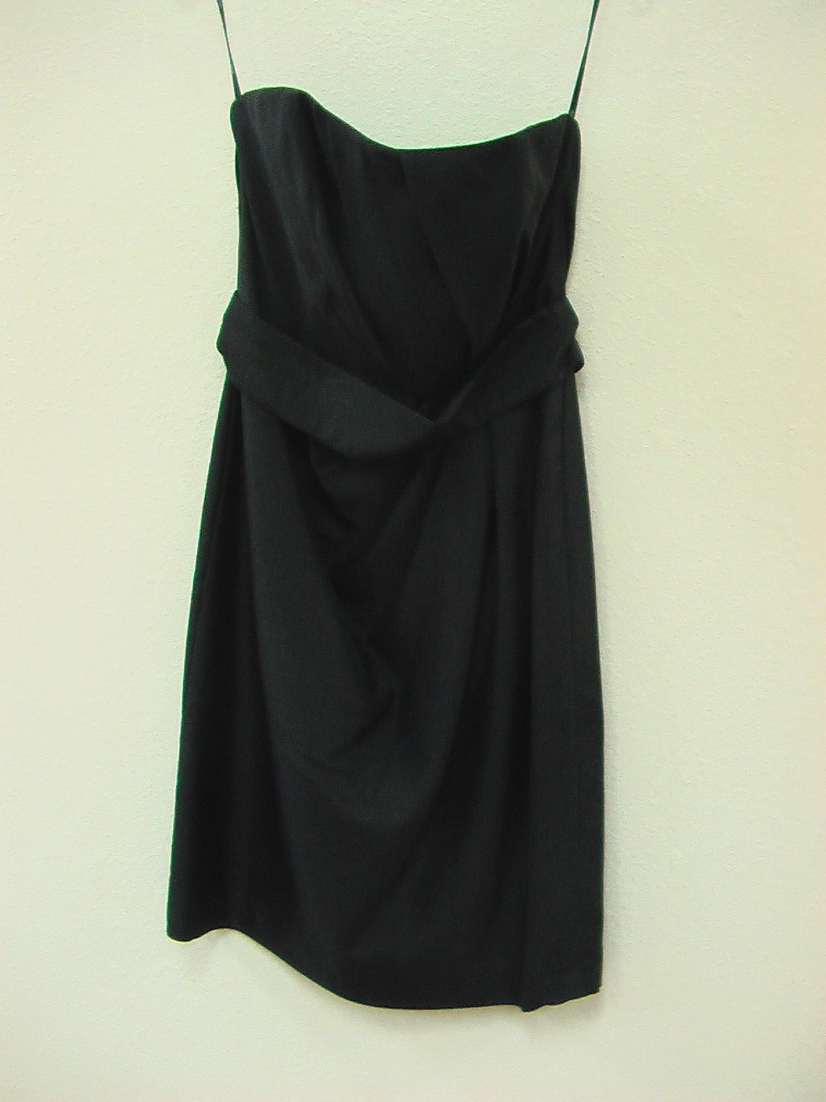 Wtoo 854 Black Size 10 In Stock Bridesmaid Dress - Tom's Bridal