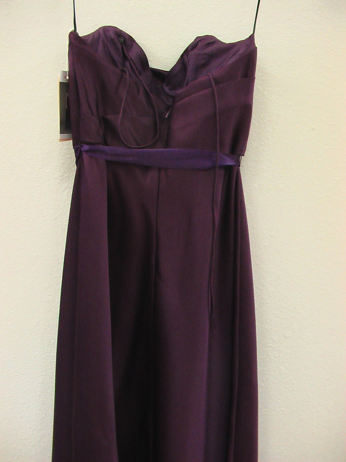Wtoo 865 Plum Size 12 In Stock Bridesmaid Dress - Tom's Bridal