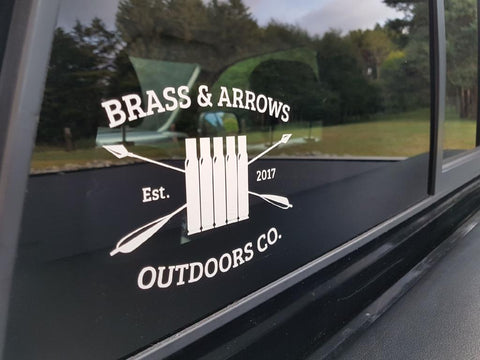 Die Cut Vinyl Window Decal FREE SHIPPING