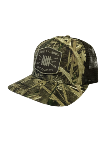Shadow Grass Blades Snap-back Trucker