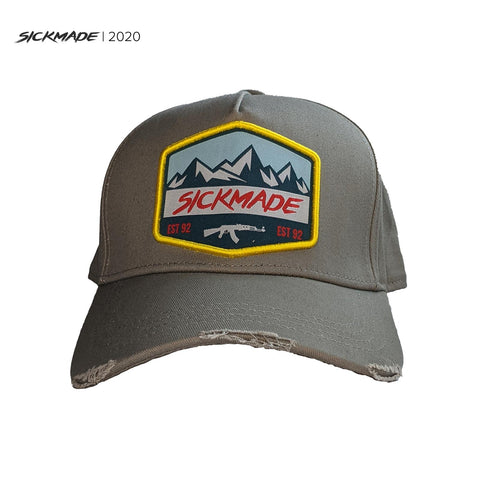 Light Grey  Trucker Cap