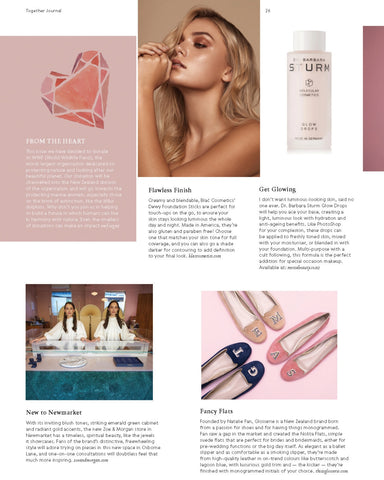 Glosserie Monogram Shoes Featured in Together Journal | Glosserie