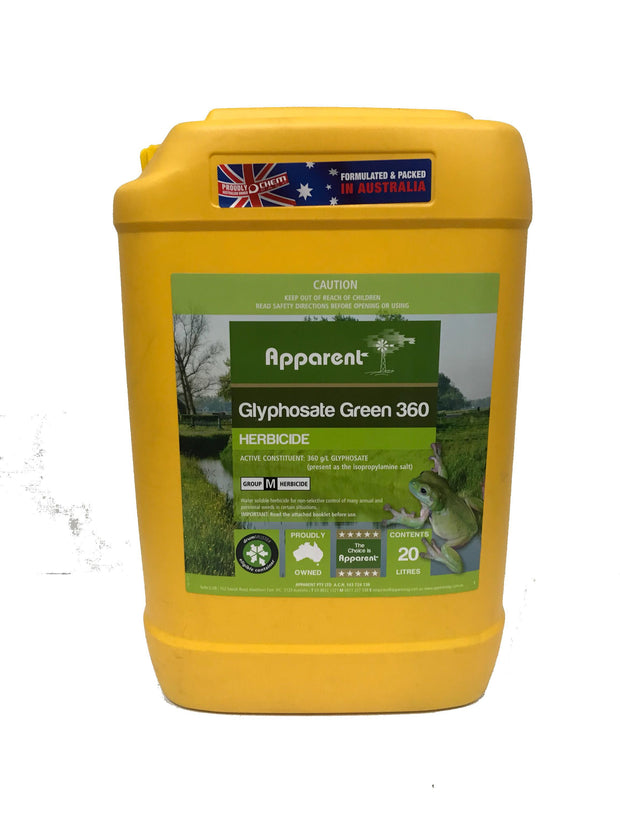 Apparent Glyphosate 20ltr