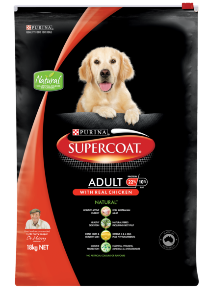 Supercoat Adult Chicken 18kg