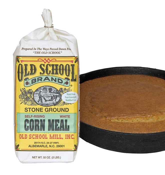 Stone Ground Self Rising White Corn Meal