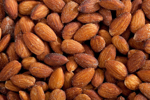 Almonds / Roasted , Salted