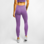 Side Mesh Legging - Lilac