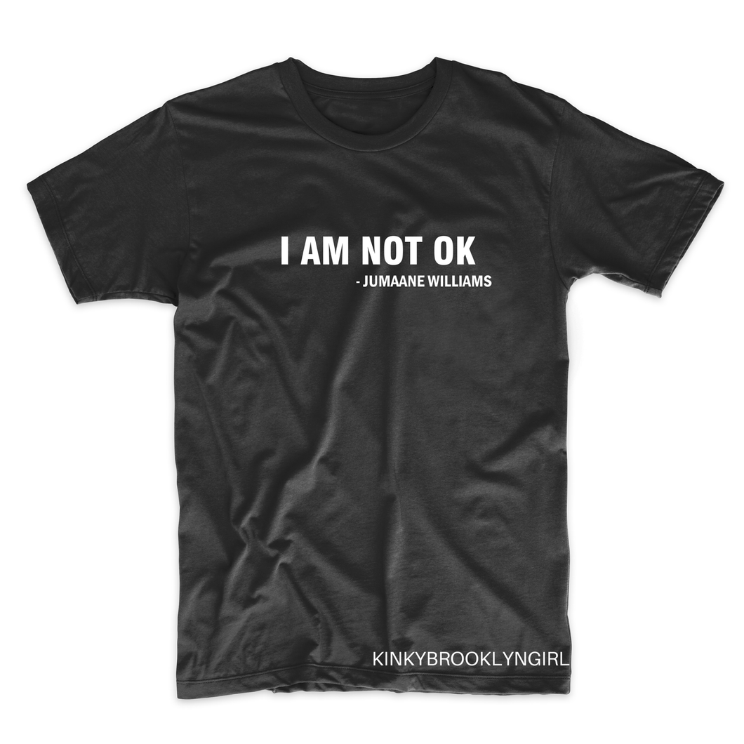 "Jumaane Williams ""I AM NOT OK"""