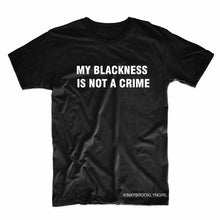 MY BLACKNESS IS NOT A CRIME