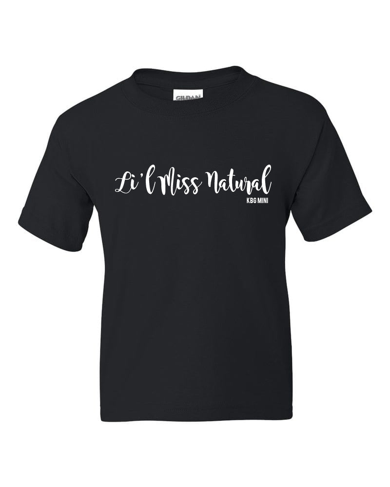 KBG MINI - Li'l Miss Natural T-Shirt