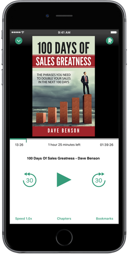 100 Days Of Sales Greatness - Audio Book