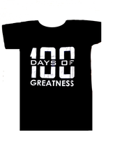 100 Days Of Greatness - Scoop T-Shirt