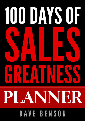 100 Days Of Sales Greatness Planner