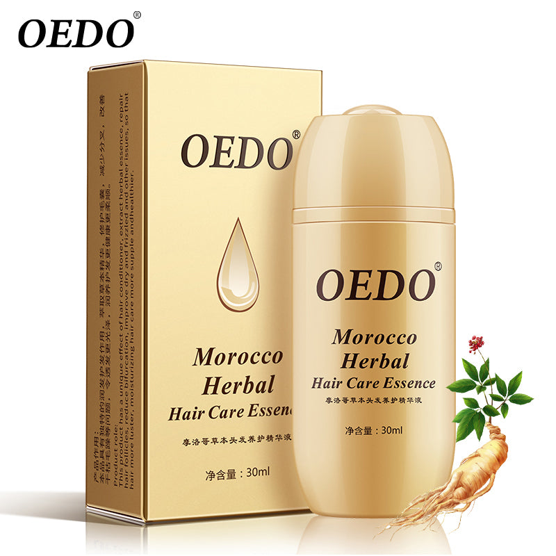 Morocco Herbal Ginseng Hair Care Essence Treatment For Men And Women Hair Loss