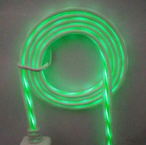Electroluminescent Charger Cable