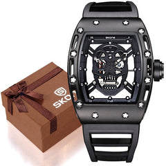 Skull Watch for Men Quartz Watches