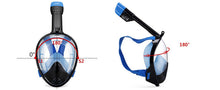 Full Face Antifog Scuba Diving Snorkeling Mask