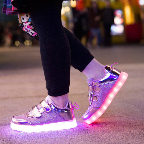 Lighted Colorful Sneakers