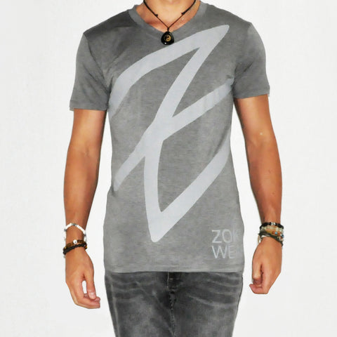 Zoku Grey Bamboo T-Shirt