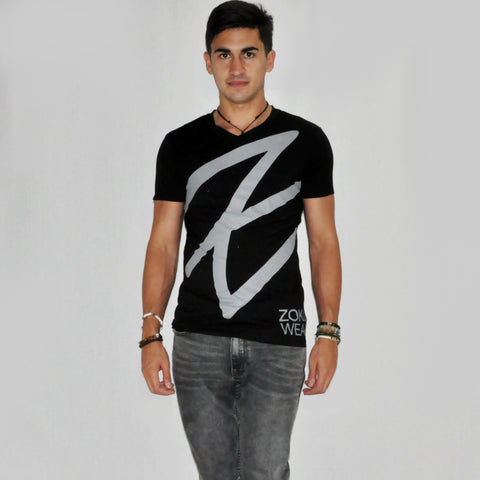 Zoku Bamboo Black T-Shirt