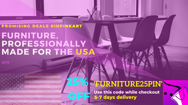 Furniture, Professionally Made For USA In PinKart-USA