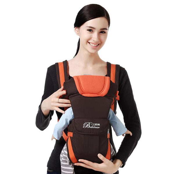 0-24 Months Breathable Front Facing Baby Carrier Infants Sling Backpack Sling Backpack Pouch Wrap