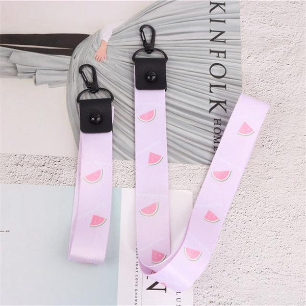 PINkart-USA 005 Fashion For Mobile Phone Neck Wrist Strap Work Card Holder Badge Id Holder For Iphone 6 7 8 Samsung