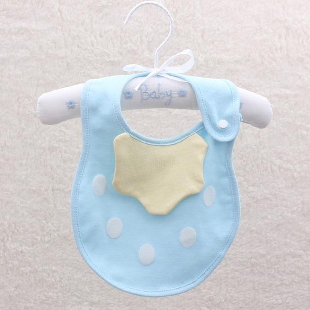 PINkart-USA 1 Baby Cartoon Fruit Bibs Lovely Candy Color Waterproof Bibs Boys Girls Cute Cotton Saliva Towel Born