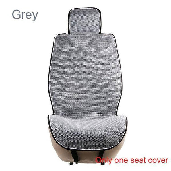 PINkart-USA 1 pc Gray 1 Pc Breathable Mesh Car Seat Covers Pad Fit For Most Cars /Summer Cool Seats Cushion Luxurious