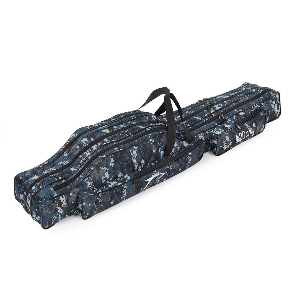 PINkart-USA 120Cm / 130Cm / 150Cm Portable Fishing Bags Folding Fishing Rod Case Fishing Gear Tackle Bag