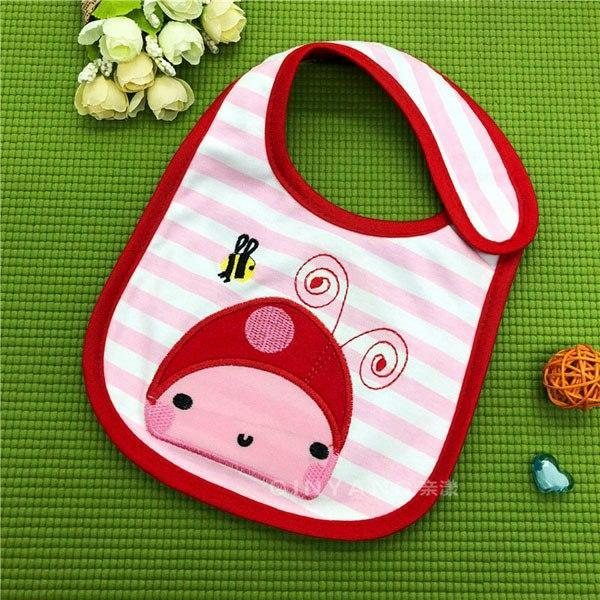 PINkart-USA 14 Baby Cotton Waterproof Bibs Lovely Butterfly Burp Cloth For Girls Sweet Birds Saliva Towels