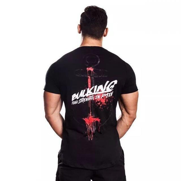 PINkart-USA 16 / Asian M Fitness Sport Shirt Men Rashgard Mens Quick Dry Fit Men Running Shirt Crossfit T Shirt Gym Sport