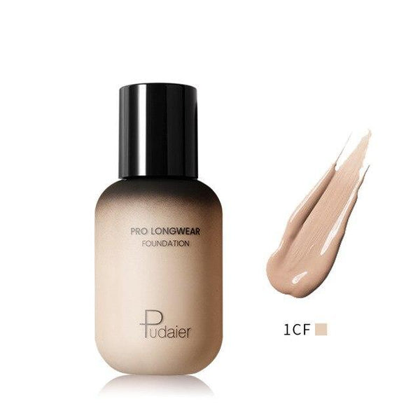 PINkart-USA 1CF Pudaier 40Ml Pro Longwear Face & Body Foundation Spf 30 Sheer Coverage Hydrating Liquid Face