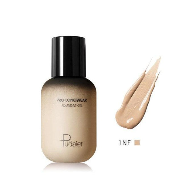 PINkart-USA 1NF Pudaier 40Ml Pro Longwear Face & Body Foundation Spf 30 Sheer Coverage Hydrating Liquid Face
