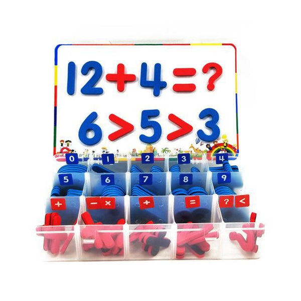 PINkart-USA 2 Educational Toys Teaching Alphabet Colorful Magnetic Letters Figure Symbol Puzzle Sticker With