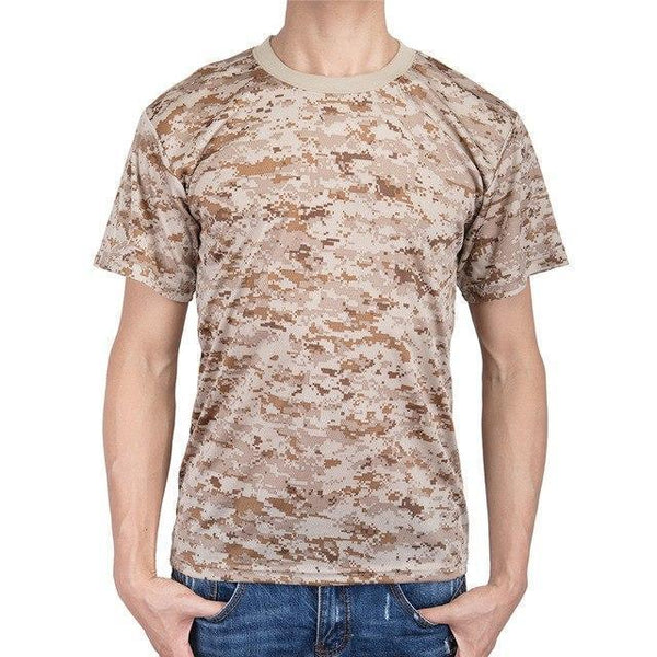 PINkart-USA 2 / M Military Camouflage T Shirt Men Cotton Us Army Combat Tactical T-Shirt Summer Quick Dry