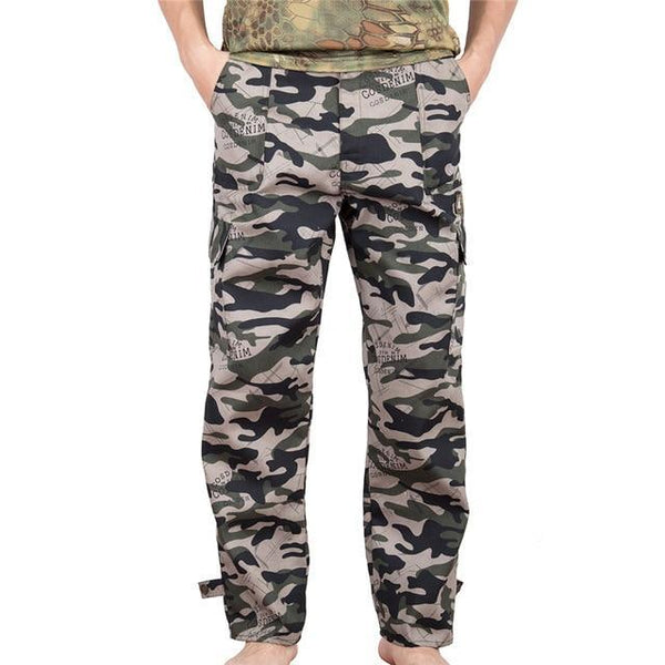 PINkart-USA 2 / S / China Joggers Pants Men Camouflage Military Pure Arrival Spring Autumn Harem Pant Men Trousers Camo